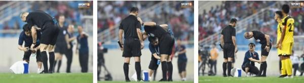 Hy hữu: Trọng tài điều khiển trận đấu của U23 Việt Nam suýt phải rời sân vì... chấn thương-6