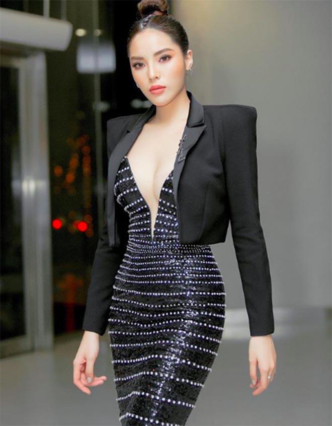 Ngắm vòng eo thon gọn, gây mê mẩn của Hoa hậu Kỳ Duyên-6