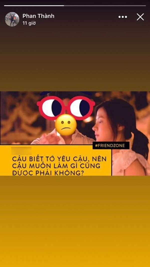 Sau nhiều ồn ào tình cảm, Phan Thành bất ngờ muốn gửi lời xin lỗi đến ai đó, liệu có phải Midu hay Primmy Trương?-2