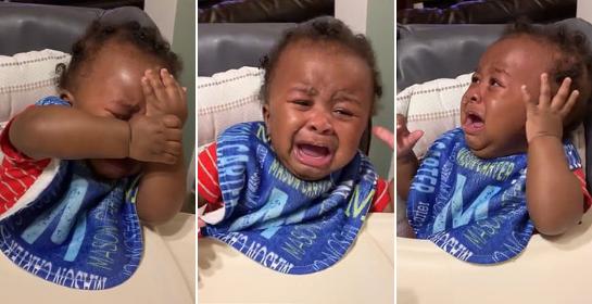 Cậu bé khóc lóc hết sức drama vì không nhận ra ông bố mới cắt tóc, dân mạng dù thương vẫn đòi chế meme-4