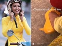 Hoa hậu nghèo nhất Vbiz H'Hen Niê, món đồ mới nhất diện là đôi giày cũ giá 80K