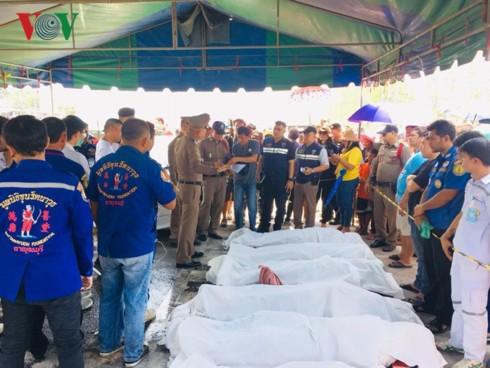Danh tính 5 người Việt tử nạn trong vụ đâm ô tô thảm khốc ở Thái Lan-2