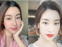 Nhược điểm trên gương mặt tưởng xuất sắc của Hoa hậu Đỗ Mỹ Linh đến các app sống ảo cũng không giấu nổi