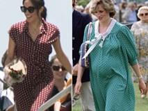 Nhiều lần nhái phong cách mang bầu của Công nương Diana quá cố, Meghan vẫn bị chê tơi tả đến