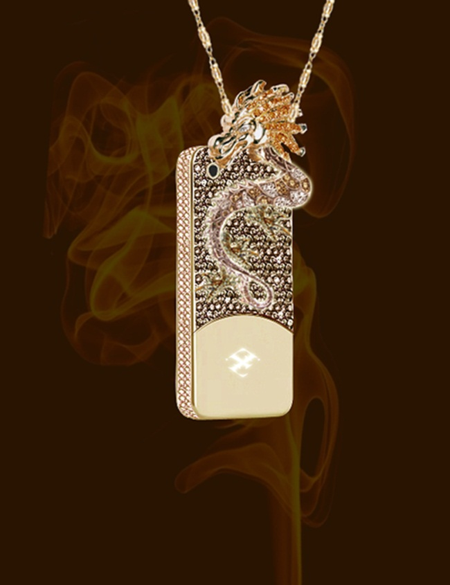Ốp iPhone đắt gấp chục lần siêu xe, vừa dùng vừa sợ bong vàng, kim cương-4