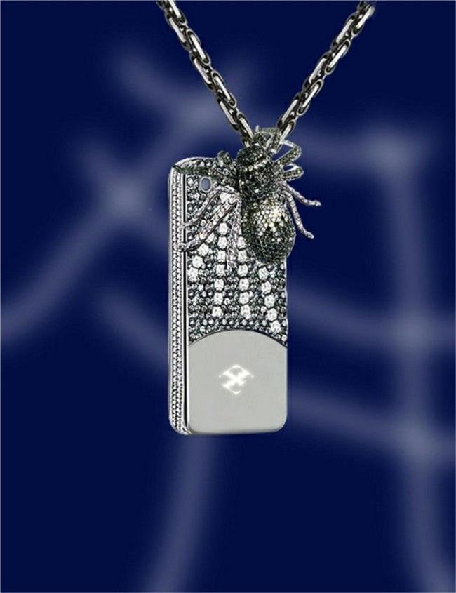 Ốp iPhone đắt gấp chục lần siêu xe, vừa dùng vừa sợ bong vàng, kim cương-5