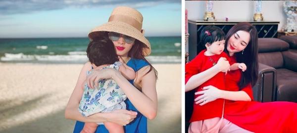 """Vừa tròn 1 tuổi, con gái HH Đặng Thu Thảo đã diện váy hiệu chanh xả"""" gần 11 triệu khiến ai cũng xuýt xoa-5"""