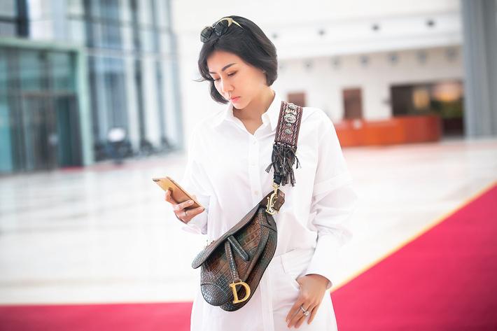 Đến hậu trường sự kiện, Thu Minh gây chú ý khi diện túi hiệu, thế giới chỉ có 3 chiếc-2