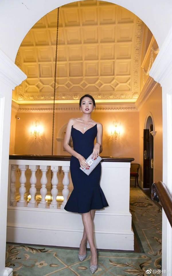 Hoa hậu thế giới Trương Tử Lâm xinh đẹp rạng ngời đón tuổi 35-8