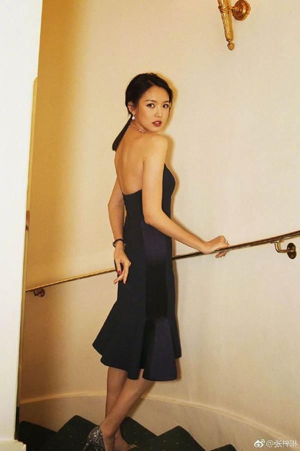 Hoa hậu thế giới Trương Tử Lâm xinh đẹp rạng ngời đón tuổi 35-10