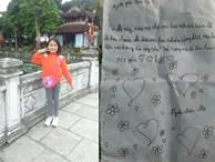 Bé gái viết thư xin tiền mẹ đi chơi khiến dân mạng tan chảy: 'Mẹ cho con bao nhiêu cũng được, mẹ để vào trong túi này nha'