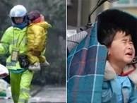 Loạt ảnh người bố đơn thân hàng ngày chở theo con gái đi ship đồ khiến cộng đồng mạng xúc động