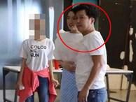 Trường Giang bày tỏ thái độ khó chịu khi biết bị chụp lén trong lần đầu xuất hiện chung cùng Nhã Phương