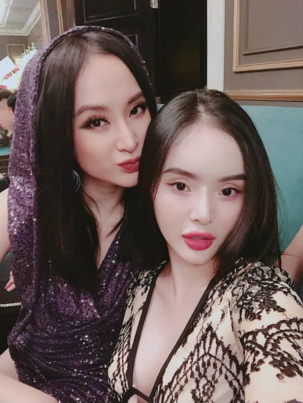 Chị em Angela Phương Trinh với gu mặc gây chú ý-2