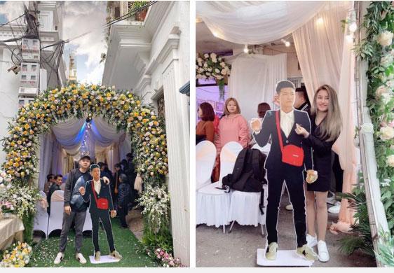 Dự đám cưới mà chẳng mất phong bì, đây là cách thanh niên xuất hiện ấn tượng ở hôn lễ bạn thân-2