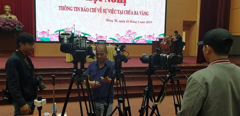 """Họp báo vụ thỉnh vong báo oán"""" tại chùa Ba Vàng: Quảng Ninh phạt bà Phạm Thị Yến 5 triệu đồng vì vi phạm-6"""