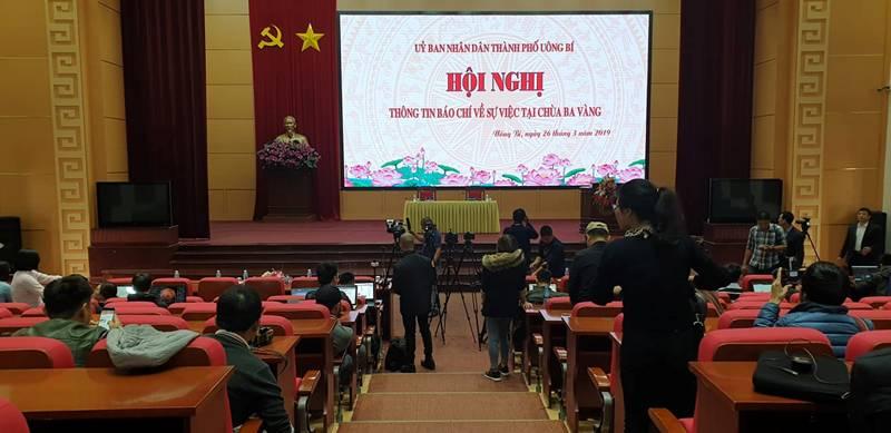"""Họp báo vụ thỉnh vong báo oán"""" tại chùa Ba Vàng: Quảng Ninh phạt bà Phạm Thị Yến 5 triệu đồng vì vi phạm-7"""