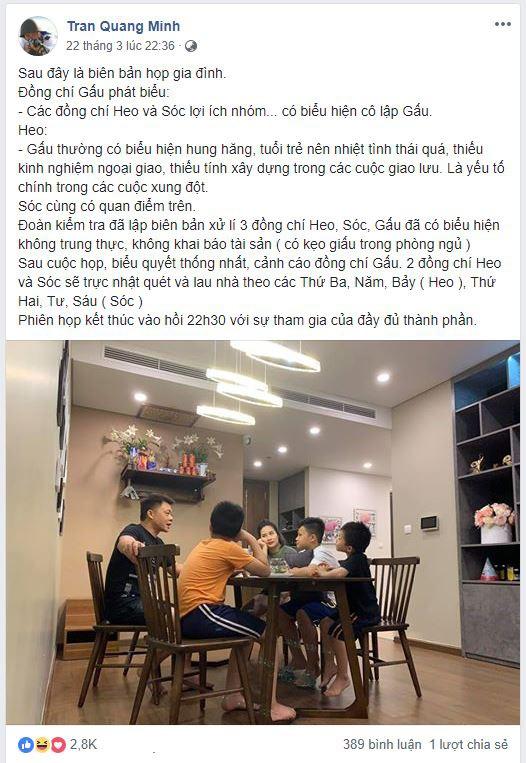 Nhà có 3 cậu con trai, đây là cách xử lý xung đột công bằng nhưng không kém phần hài hước của BTV Quang Minh-1