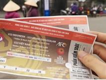 Chợ vé online kém sôi động trước trận bóng