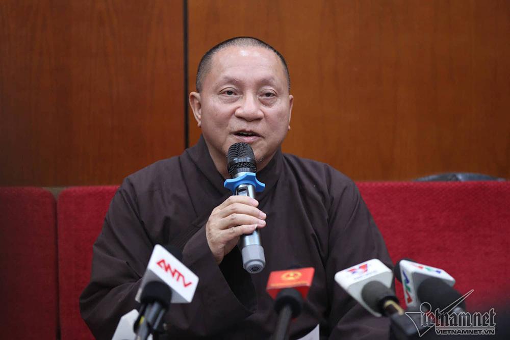 Thầy Thái Minh bị tạm đình chỉ tất cả chức vụ trong Giáo hội Phật giáo-1