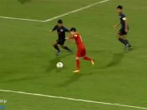 Bàn thắng nhân đôi cách biệt của Hoàng Đức trước U23 Thái Lan