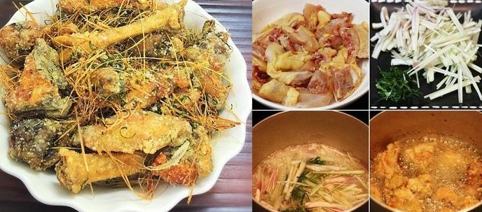 Cách làm gà rang muối giòn ngon ăn một lần nhớ mãi-5