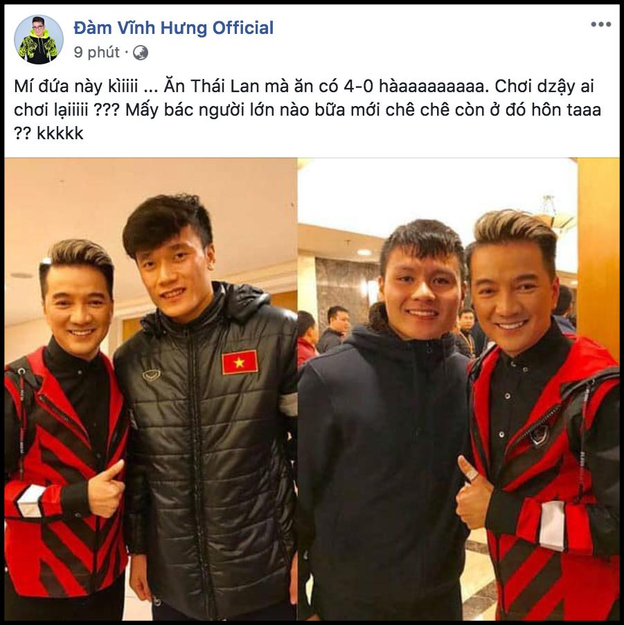 Sao Việt vỡ oà trước chiến thắng đậm nhất trong lịch sử của đội tuyển Việt Nam trước U23 Thái Lan-4