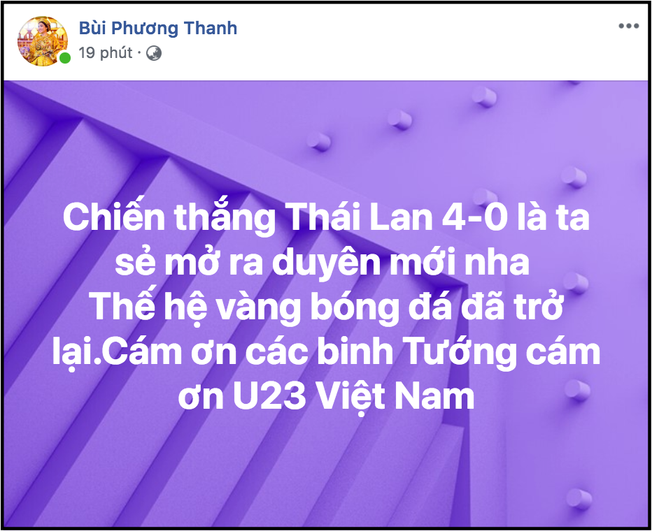 Sao Việt vỡ oà trước chiến thắng đậm nhất trong lịch sử của đội tuyển Việt Nam trước U23 Thái Lan-2