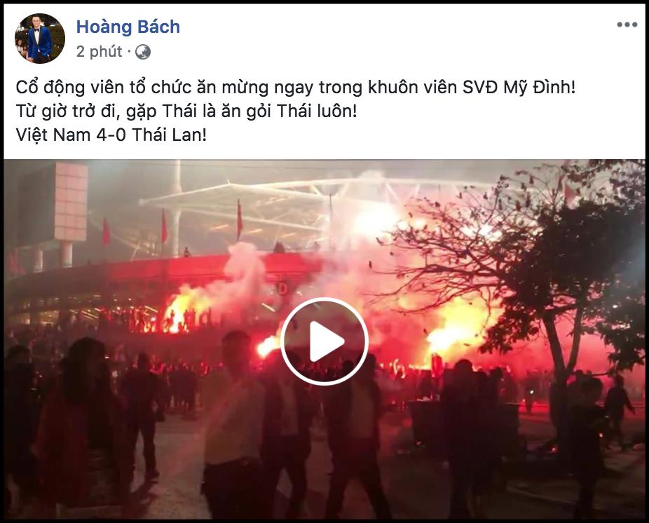 Sao Việt vỡ oà trước chiến thắng đậm nhất trong lịch sử của đội tuyển Việt Nam trước U23 Thái Lan-1