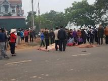 Hiện trường  xe khách đâm xe đưa tang, 7 người chết tại Vĩnh Phúc