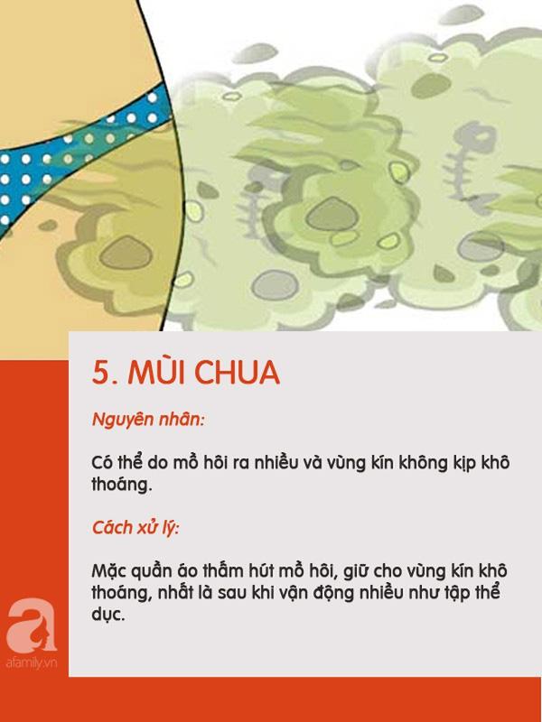 5 loại mùi có thể xuất hiện ở vùng kín chị em nên phân biệt được để biết mình đang bị làm sao-5