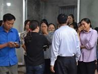 Cuộc tranh luận đau lòng trong đám tang thanh niên bị xe khách đâm chết ở Vĩnh Phúc