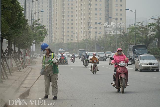 ẢNH: Nhiều tòa nhà ở Hà Nội chìm trong sương mù do ô nhiễm-7