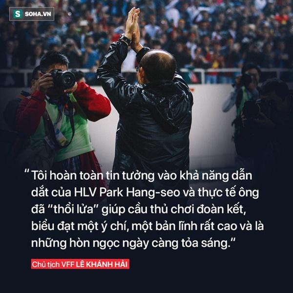 Sau thanh kiếm lệnh được trao cho thầy Park, là tham vọng thực sự của bóng đá Việt Nam-3