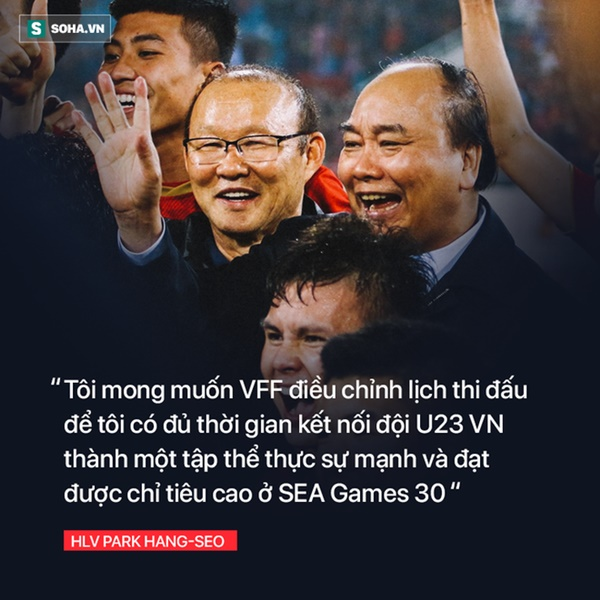 Sau thanh kiếm lệnh được trao cho thầy Park, là tham vọng thực sự của bóng đá Việt Nam-4