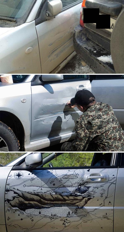 Chết cười với những trường hợp sửa xe bằng IQ vô cực thay vì đem ra thợ-1