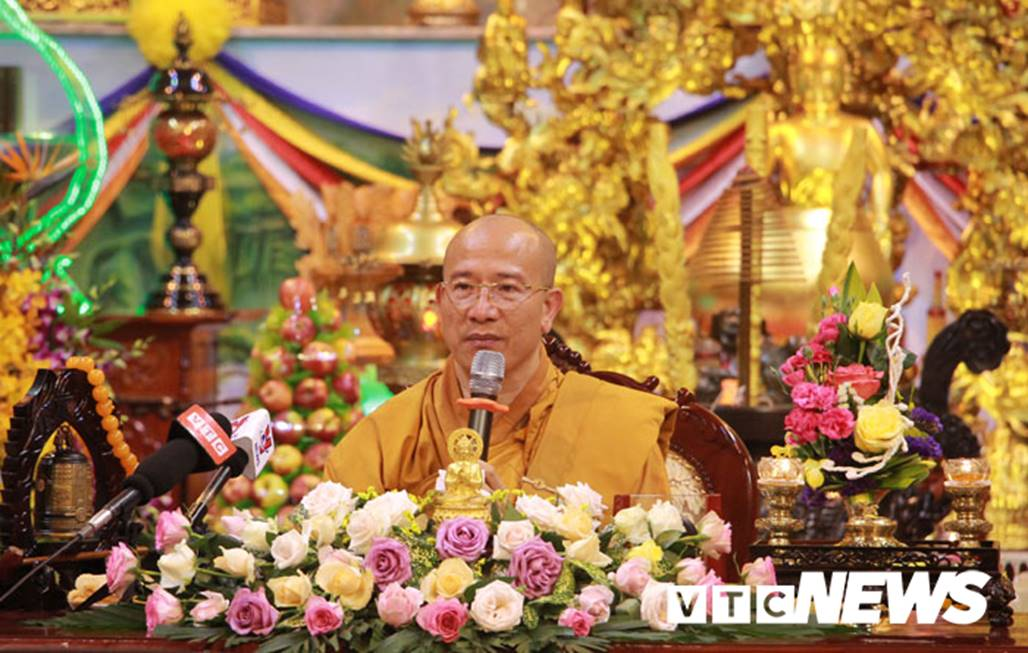 Đại đức Thích Trúc Thái Minh xin lỗi nhân dân, phật tử sau khi chùa Ba Vàng truyền bá vong báo oán-3