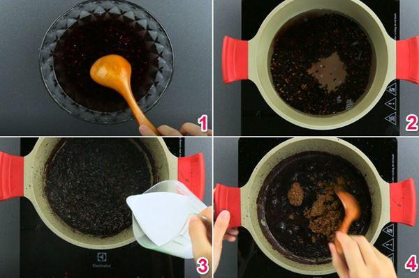 Cách nấu sữa chua nếp cẩm tại nhà nhanh chóng và tiết kiệm-4