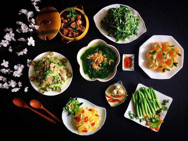 Xuýt xoa với thực đơn cuối tuần đẹp lung linh toàn món ngon của mẹ đảm Sài Gòn-1