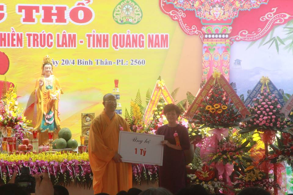 Nhận quyên góp xây dựng chùa Ba Vàng Quảng Nam: Đại đức Thích Trúc Thái Minh giải trình thế nào?-1