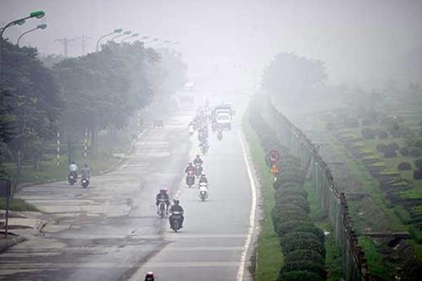 Báo động ô nhiễm không khí ở Hà Nội: Cái giá của cuộc sống hiện đại?-1