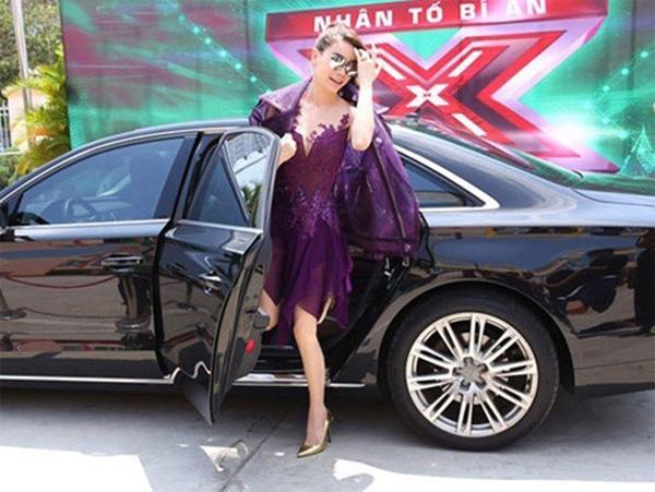 Chán ca hát, Hồ Ngọc Hà lái xe sang Rolls-Royce chạy Uber?-8