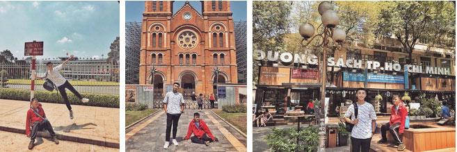 Bộ ảnh du lịch Sài Gòn gây sốt trên MXH, biểu cảm đối lập của 2 nhân vật chính mới gây thích thú-3