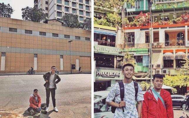 Bộ ảnh du lịch Sài Gòn gây sốt trên MXH, biểu cảm đối lập của 2 nhân vật chính mới gây thích thú-5