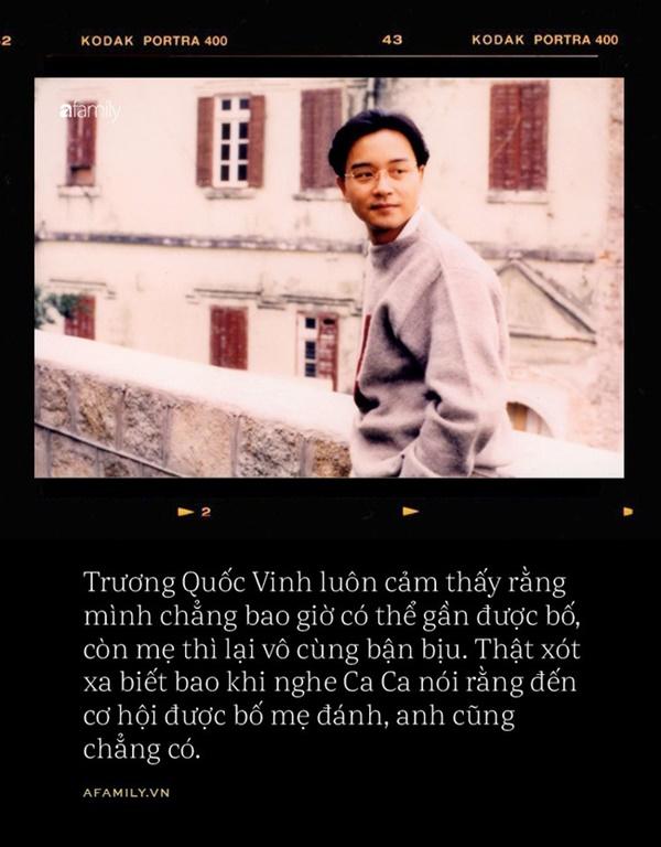 16 năm ngày mất Trương Quốc Vinh: Chuyện về một loài chim không chân, chỉ đáp xuống đất một lần khi chết-5