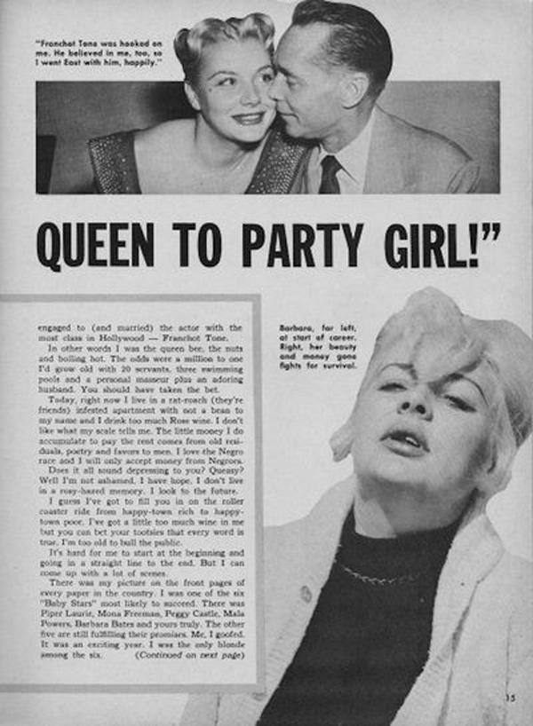 Được kì vọng là quả bom sex nổi tiếng không kém Marilyn Monroe nhưng mỹ nhân tóc vàng này lại trượt dài trong rượu chè, mại dâm-3
