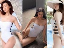 Đụng kiểu áo tắm hở bạo với Hà Hồ và Đỗ Mỹ Linh, Phương Khánh chẳng hề kém cạnh vì...