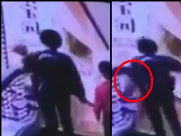 Người mẹ tuột tay làm rơi con 4 tháng tuổi từ thang cuốn và hình ảnh đứa bé còn lại gào khóc khiến ai cũng ám ảnh-1