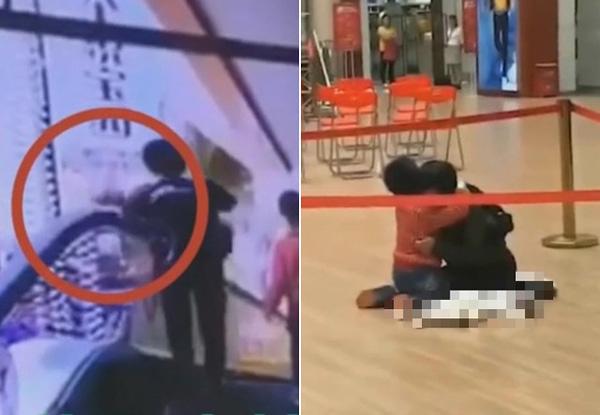 Người mẹ tuột tay làm rơi con 4 tháng tuổi từ thang cuốn và hình ảnh đứa bé còn lại gào khóc khiến ai cũng ám ảnh-3