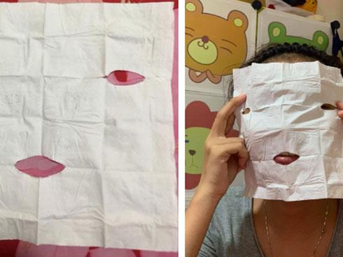 Tưởng vớ món hời khi mua gel lột mụn được tặng mặt nạ, cô nàng khiến dân mạng cười bò khi đem ra sử dụng